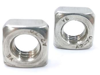 304不锈钢方螺母