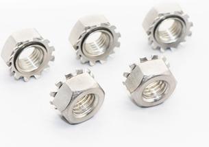 304不锈钢K型多齿螺母
