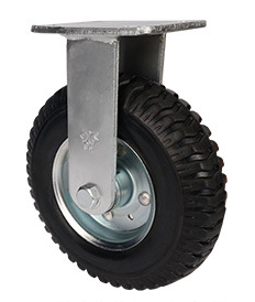 重型充气橡胶双轴定轮
